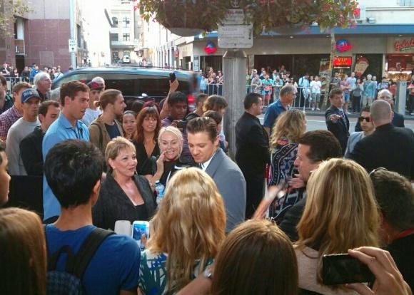 Jeremy Renner visits Sydney