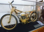Gold-plated motorcycle